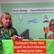 Ein Kasperle-Theater-Stück gespielt von den Erzieherinnen des Kindergarten Erlöser