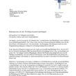 Offener Brief an den Bürgermeister zum Thema Corona-Unterbringung für Geflüchtete