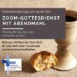 Gründonnerstag: Zoom-Gottesdienst mit Abendmahl