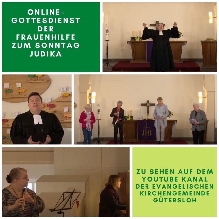 Online-Gottesdienst der Frauenhilfe