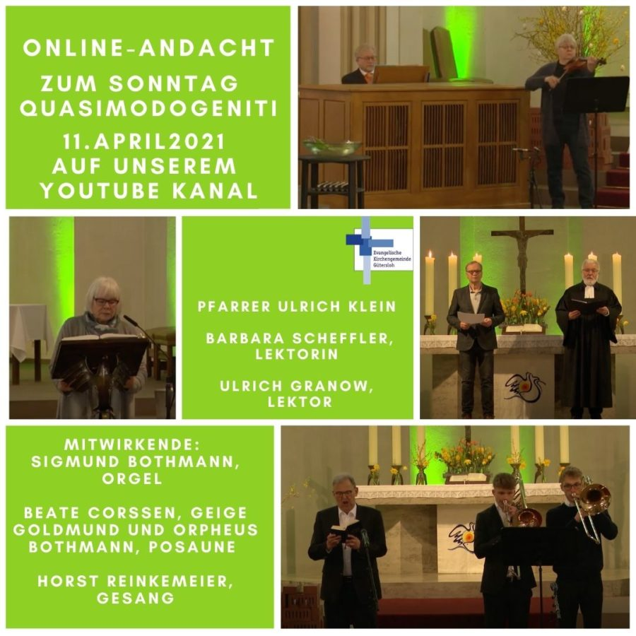 online andacht 11.april