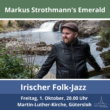 Konzert: Markus Strothmann's Emerald – Irischer Folk-Jazz